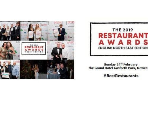North East Restaurant Awards 2019 – Finalist